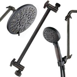 """Hotel Spa 11"""" Solid Brass Adjustable Shower Extension Arm, O"""