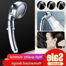 3 In 1 High Pressure Showerhead Handheld Shower Head with 3-