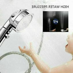 3 in 1 High Pressure Showerhead Handheld Shower Head with ON
