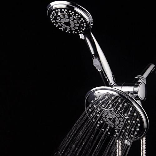 Hydroluxe 1842 3-way 6 Shower Shower with Patented Switch. Switch shower heads together!