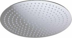 ALFI Brand Solid Brushed Stainless Steel 16 Round Ultra Thin